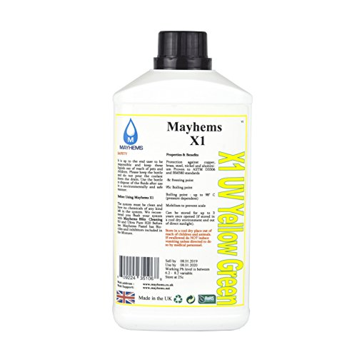 Mayhems X1 UV Orange Watercooling Fluid 1L lowest price