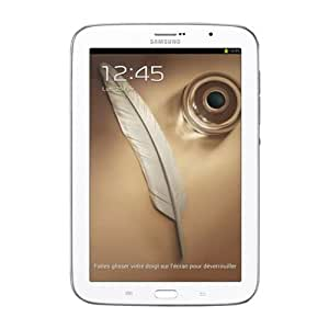 Samsung Galaxy Note 8 Tablette tactile Android 4.1 Jelly Bean 16 Go Blanc 4G
