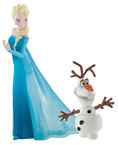 Bullyland Frozen - Decorative Figure, Design by Elsa and Olaf