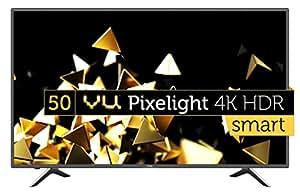VU 127 cm (50 Inches) 4K UHD LED Smart TV LEDN50K310X3D (Black) (2017 model)