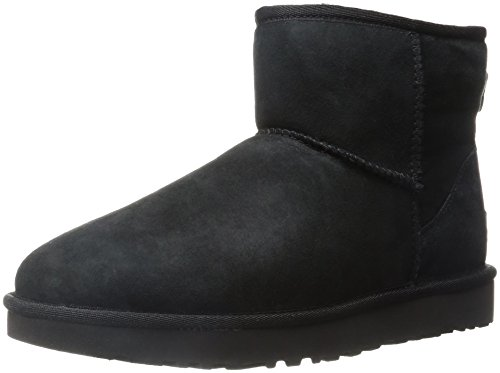 Ugg Damen Classic Mini II Stiefel (Schwarze Kurze Ugg Boots)