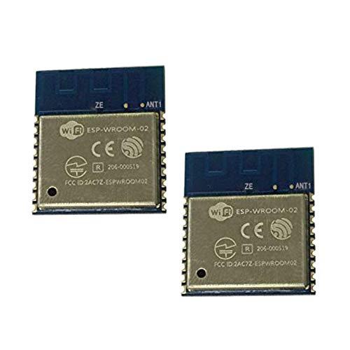 Semoic Module sans Fil WiFi du Port SéRie Distant Esp-Wroom-02 Esp8266 éMetteur-RéCepteur 32Mbit