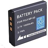 BPS High Power NP50 NP-50A NP50A li-ion Battery for Fujifilm X10,KODAK V1273 ,Pentax Optio S10 Digital Camera