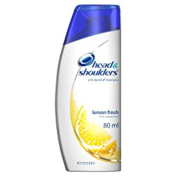 Head and Shoulders Shampoo, Lemon Fresh, 80ml