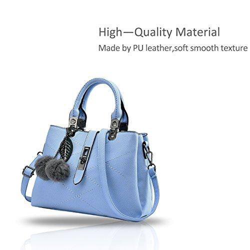 Nicole&Doris 2017 new wave packet Messenger bag ladies handbag female bag handbags for women(Azure)