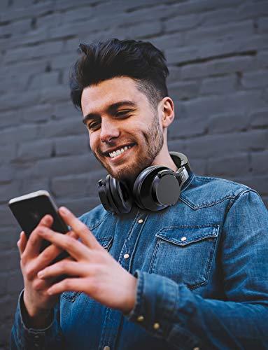 Mixcder E8 Aktive Geräuschunterdrückung Bluetooth Kopfhörer mit Mikrofon Active Noise Cancelling Kopfhörer Drahtloser Über-Ohr-Kopfhörer mit Stereoton,Faltbar, Kabelloses Headset mit Tiefem Bass - 5
