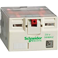 Schneider elec pia - lec 35 10 - Rele potencia 15a 4na/nf con led 230vca
