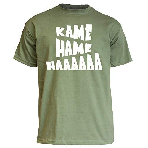 Nukular T-Shirt Kamehameha Farbe Olive, Größe L