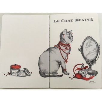 orval-creations-carnet-le-chat-beaute-32-pages-10-x-15-cm