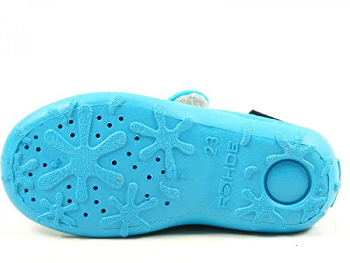 Rohde Boogy, Chaussons avec doublure froide fille Türkis