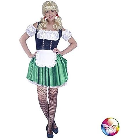 aptafêtes–cu060637/42–44–Costume bavarese–Abito e di un grembiule–Dimensione