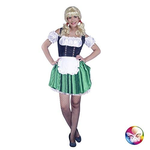 Aptafêtes–cu060637/42–44–Bayerische Kostüm, Kleid und Schürze–Größe (Kostüme Bavarois)