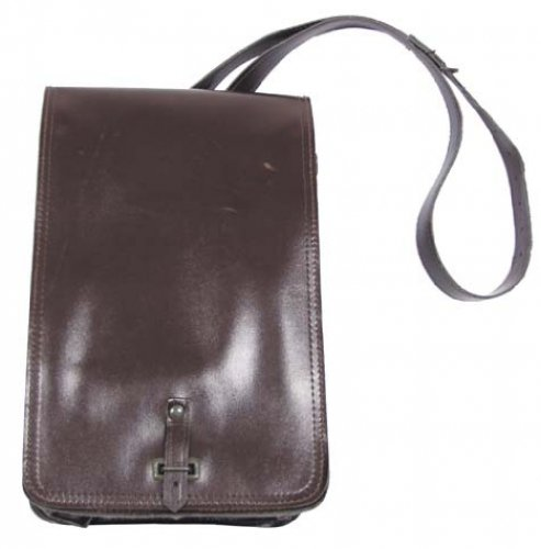 Preisvergleich Produktbild CZ KARTENTASCHE Karten Tasche Meldetasche braun Kunstleder Armeetasche Militär