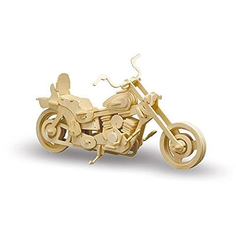 Holzbausatz Harley Davidson, 29cm, 96 Teile (Bausatz Harley Davidson)