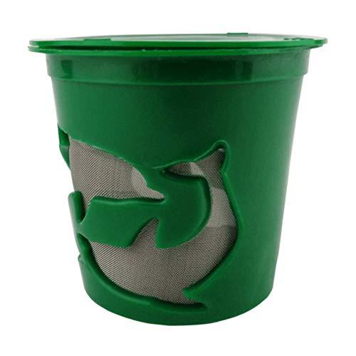 Hankyky 1Pc K-Cup Nachfüllbare wiederverwendbare K-Tassen Kaffeefilter für Keurig Hot Plus 2.0 & 1.0