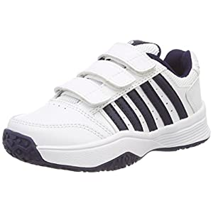 K-Swiss Performance Unisex-Kinder Court Smash Strap Omni Tennisschuhe