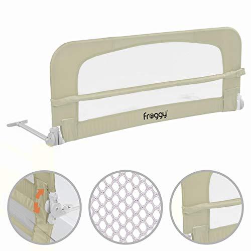 Bettgitter 100 cm Bettschutzgitter Kinderbettgitter Babybettgitter Gitter Kinderbett Fallschutz Bett Sand