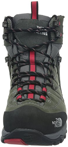 The North Face  Verbera Hiker GTX II, Chaussures de trekking et de randonnée homme Gris (Graphite Grey/Tnf Red 0T5)