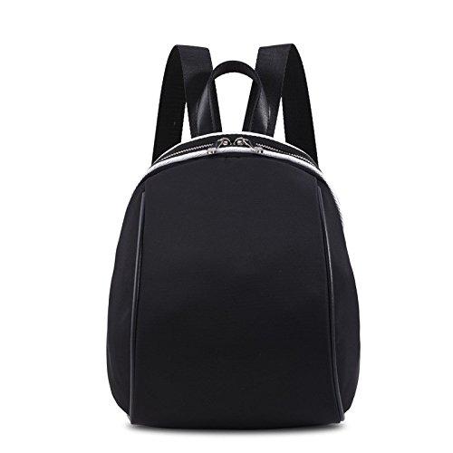 borsa di tessuto di nylon, oxford, nuove donne borsa,un nero black b