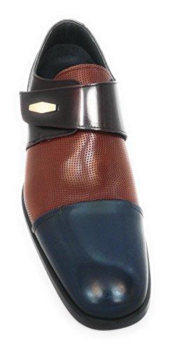 Burgund auf cm Männer braun Burgund Ihre Leder Braun blau 100 Zerimar Blau Erhöhen Leder bis Weise anhebender Höhe Körpergrösse für Farbe Ferse zu Unsichtbare Florantic Versteckter Schuhe 7 Steigerung ngWWxpCTF