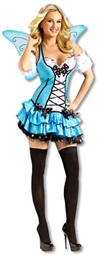 Glockenblume Kostüm - Horror-Shop Glockenblumen Feen Kleid