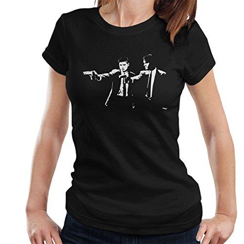Pulp Fiction Supernatural Sam And Dean Winchester Women's T-Shirt