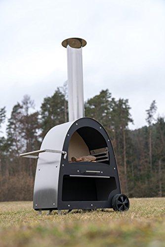 Flammenco Gartenkamin TK1 Grillkamin - 8