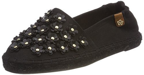 Tamaris Damen 24608 Espadrilles Schwarz (Black Canvas)