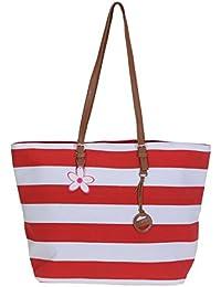 FABRIZIO sac à shopping shopper xL faltshopper sac de transport avec rayures