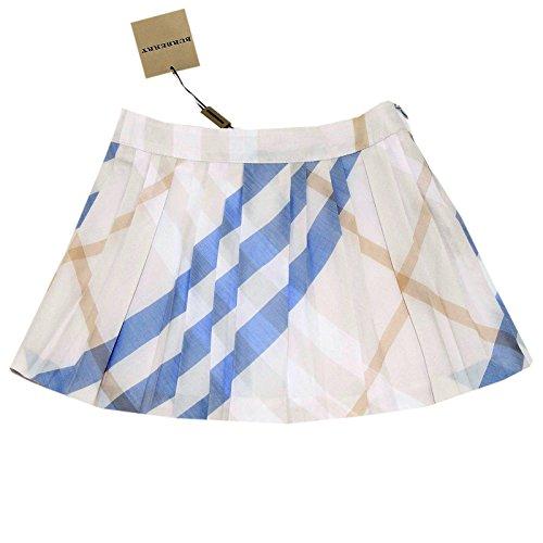 9417G gonna bimba BURBERRY check cotone gonne skirts kids [3 ANNI]