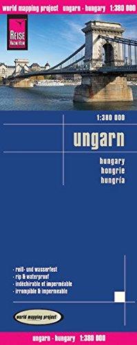 Landkarte: Ungarn, Maßstab 1:275.000