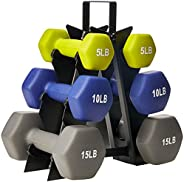 AmazonBasics Neoprene Dumbbell Pairs and Sets