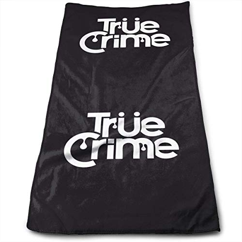 True Crime 100% Cotton, Fade Resistant, Highly Absorbent, Machine Washable, Hotel Quality, Soft Absorbent Towel Abyss Dish