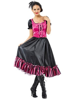 BOLAND 87393 Kostüm Saloon Girl Poker Alice, - Poker Girl Kostüm