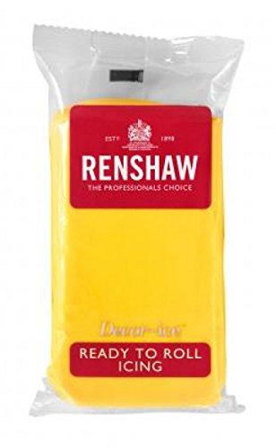 Renshaw pasta di zucchero gialla 250gr