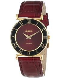 Jowissa J2.043.M - Reloj analógico de cuarzo para mujer con correa de piel, color rojo