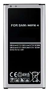 Li-ion Batterie pour Samsung Galaxy NOTE 4 SM-N910F, N9100 EB-BN910 Accu 3.8V