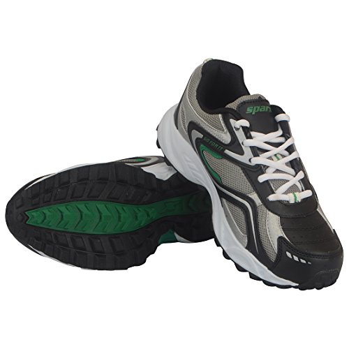 Sparx Men's Green Mesh Running Shoes - 11UK