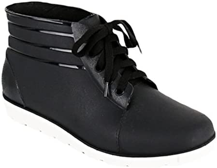 Xinwcang Hombres Zapatos Planos de Cordones,Mocasines Clásico Casuales Transpirable Impermeable Botas Conducción...