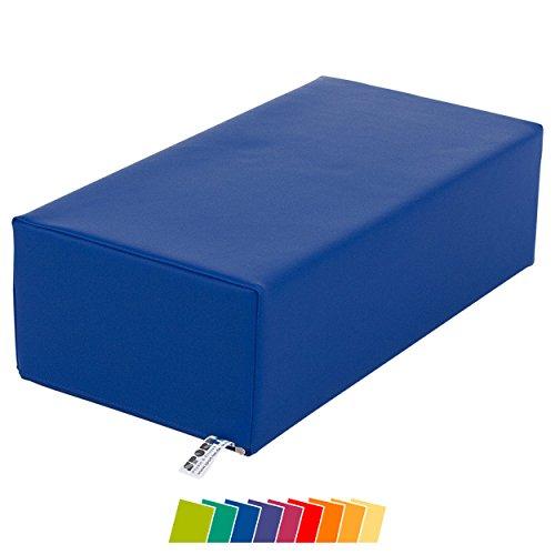 Sport-Tec Stufen-Lagerungskissen Stufenlagerungswürfel Lagerungswürfel Kissen 50x25x15 cm