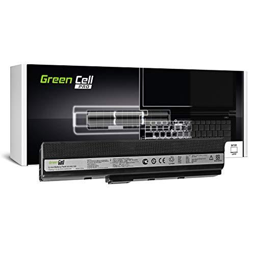 A32-K52 Laptop Akku für ASUS A52 K52 K52D K52F K52J K52JC K52JE K52JR K52JT K52N X52 X52J X52N (Original Samsung SDI Zellen, 6 Zellen, 5200mAh, Schwarz) ()