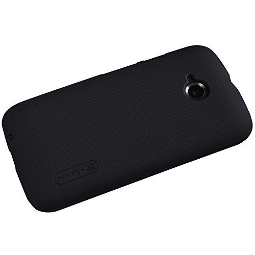 Nillkin Frosted Hard Back Cover Case For Moto E 2nd Gen E2 4G XT1505 - Black