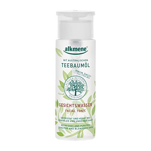 alkmene Teebaumöl Gesichtswasser -Melaleuca gegen Pickel, vegan, 150 ml