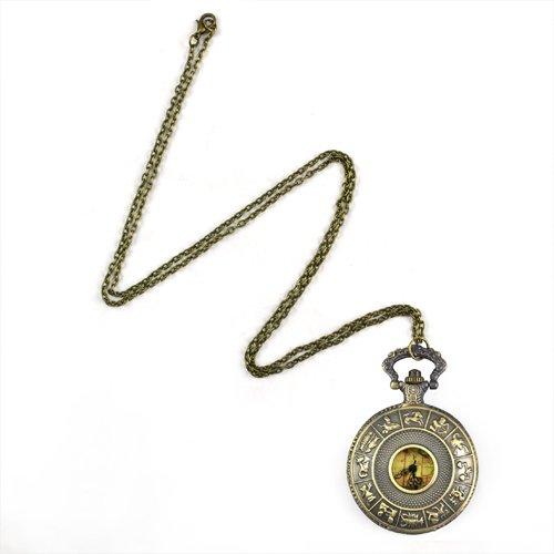 lien Halskette Taschenuhr ()