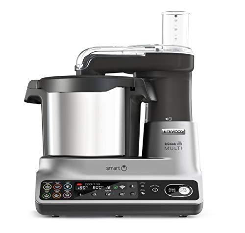 Kenwood kCook Multi Smart CCL456SI - Robot da Cucina con Funzione Cottura