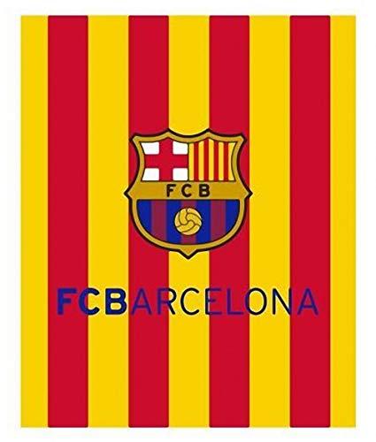 TEXTIL TARRAGO FCB Barcelona Manta Coral Tacto Suave
