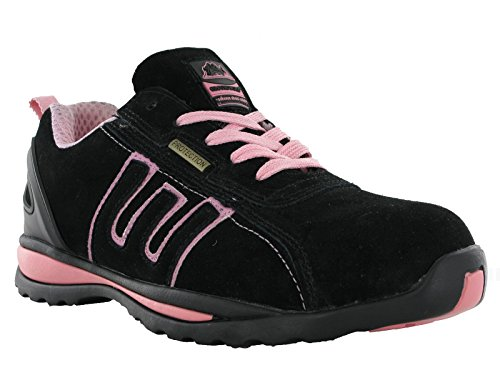 Groundwork GR86, Unisex Adultos de Seguridad Trainers, Color, Talla 37 1/3