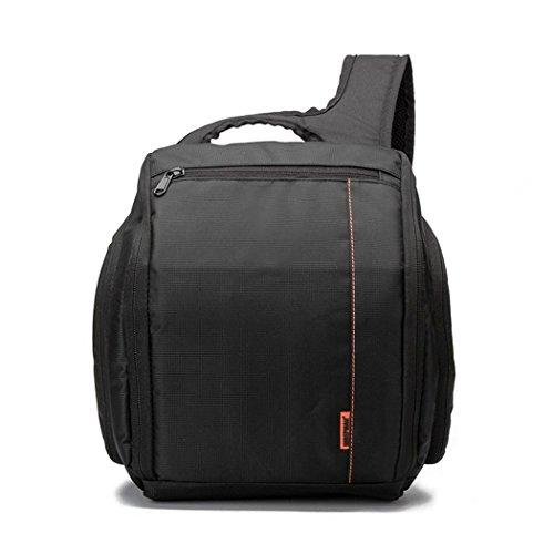 XY-QXZB Sacchetto del messaggero della spalla per la macchina fotografica, sacchetto professionale della macchina fotografica della macchina fotografica di SLR della macchina fotografica digitale di grande ca , Orange