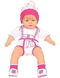 Isar-Trachten - Body - Cuadrados - Cuello redondo - para bebé niña