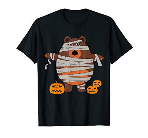 Mama Bär Kürbis-Kostüm Witziges Tier-Halloween-Geschenk T-Shirt (Mama Bär Kostüm)